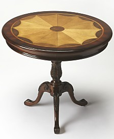 Plantation Pedestal Table, Quick Ship