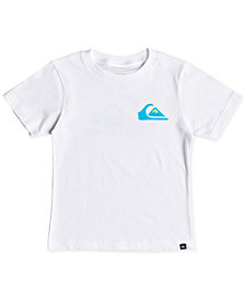 Quiksilver Little Boys Vice Versa Logo-Print T-Shirt