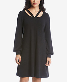 Karen Kane Cutout Sweater Dress