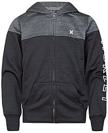 Hurley Big Boys Dri-FIT Solar Full-Zip Hoodie