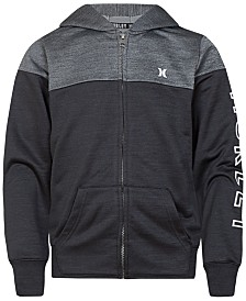 Hurley Little Boys Dri-FIT Solar Zip-Front Hoodie