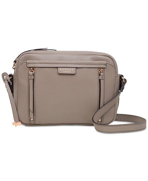 4b7f92b034c Radley London Zip-Top Small Pebble Leather Crossbody Bag & Reviews ...