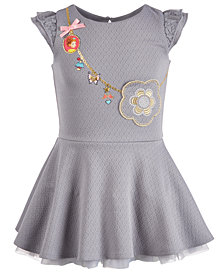 Disney Little Girls Fancy Nancy Purse Dress