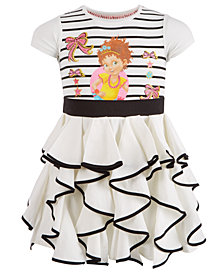 Disney Little Girls Fancy Nancy Ruffled Dress