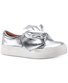 Nina Toddler, Little & Big Girls Isabeth Bow-Trim Sneakers