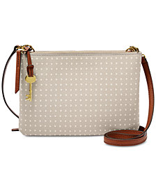 Fossil Devon Printed Crossbody