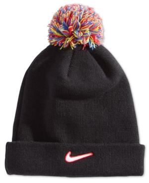 Nike Little Boys PomPom Beanie Hat