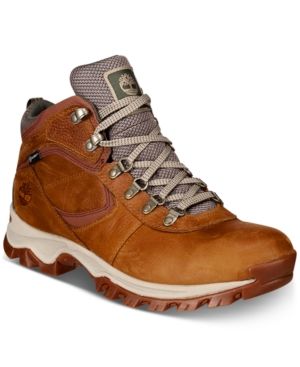 a52410e056c Timberland Men S Mt. Maddsen Full-Grain Waterproof Boots Men S Shoes In Light  Brown