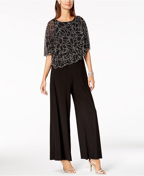 6688191d3edc MSK Embellished Popover Jumpsuit   Reviews - Pants   Capris - Women ...