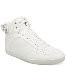 GUESS Men's Fitz High-Top Sneakers