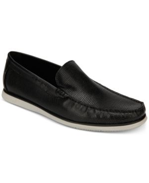 Kenneth Cole Men's Textured Cyrus Slip-Ons Men's Shoes 6640998