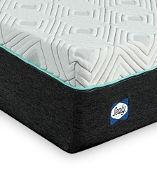 "Sealy to Go 10"" Plush Memory Foam Mattress, Quick Ship, Mattress in a Box - California King"