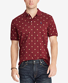Polo Ralph Lauren Men's Classic Fit Soft-Touch Crest Print Polo
