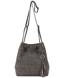 The Sak Castella Drawstring Bucket Crossbody