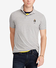 Polo Ralph Lauren Men's Classic Fit Cotton Polo Bear Shirt, Created for Macy's