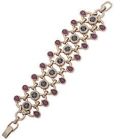 Ivanka Trump Gold-Tone Crystal & Stone Flex Bracelet