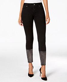 I.N.C. Dip-Dye Skinny Jeans, Created for Macy's