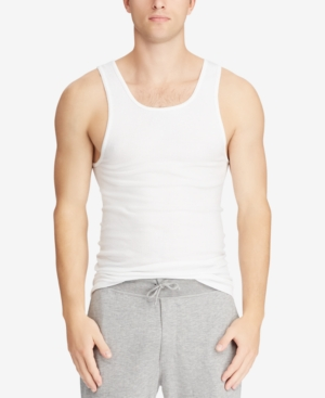 Polo Ralph Lauren Men's Big & Tall 2-Pk. Cotton Tank Tops