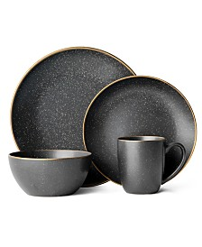 Mikasa Juliana Black 16-Piece Dinnerware Set