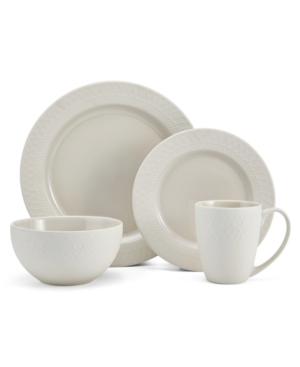 Mikasa Harper Cream 16Pc Dinnerware Set