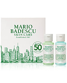 Receive a FREE 2 pc. Gift with $30 Mario Badescu purchase!