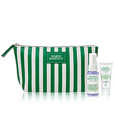 Receive a FREE 3 pc. Gift with $35 Mario Badescu purchase!
