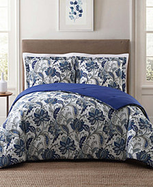Style 212 Bettina Floral Full/Queen Comforter Set
