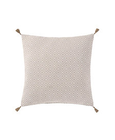 "Oceanfront Resort Chambray Coast 18"" Square Decorative Pillow"