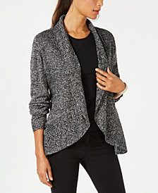 Karen Scott Shawl-Collar Cardigan, Created for Macy's
