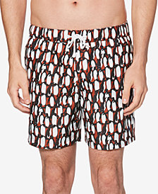 "Original Penguin Men's Penguin 6"" Swim Trunks"