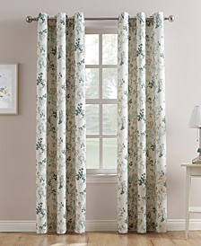 Mabel Leaf Print Curtain Collection