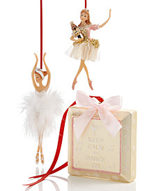 Holiday Lane Ballet Ornament Collection, Created for Macy's