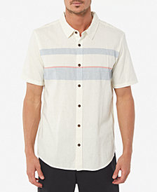 Jack O'Neill Men's Charter Embroidered Stripe Shirt
