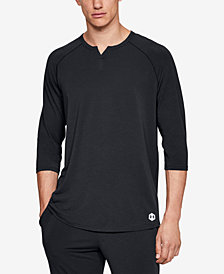 Under Armour Men's Recovery Pajama Henley Shirt