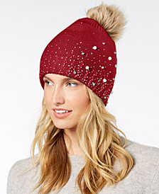 I.N.C. Shine Like the Night Beanie, Created for Macy's