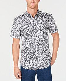 Reyn Spooner Men's Country Kane Reverse-Print Pocket Shirt