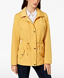 Water-Resistant Hooded Anorak Jacket, Created for Macy's