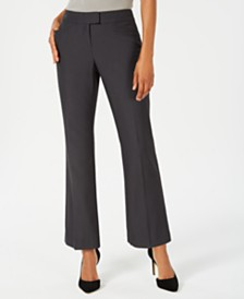 JM Collection Petite Tummy Control Trousers, Regular & Short Lengths, Created for Macy's