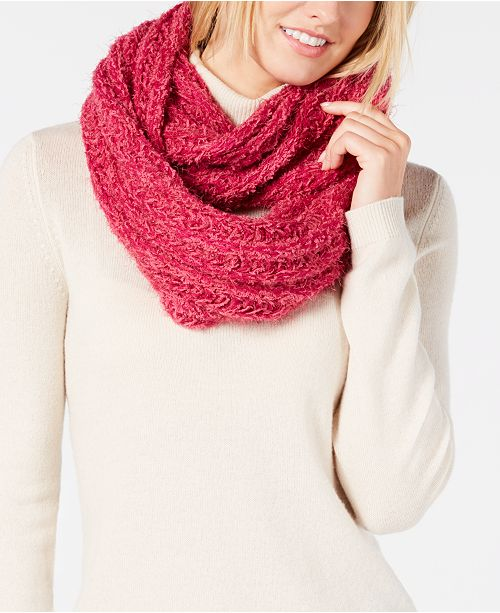 INC International Concepts I N C  Textured Infinity Scarf, Created for