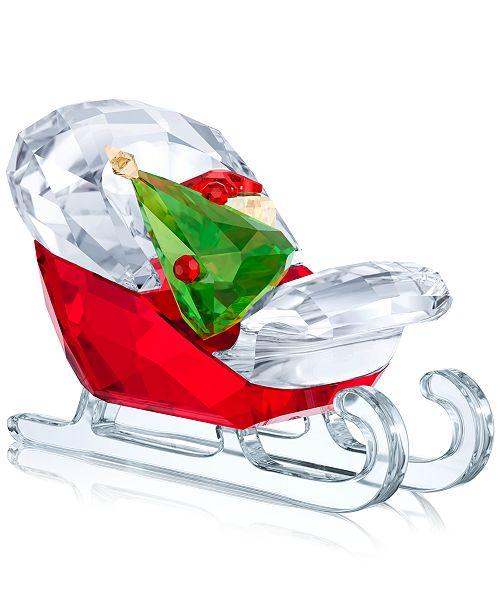 Swarovski Santa's Sleigh Figurine