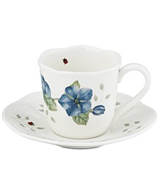Butterfly Meadow Espresso Cup/Saucer Set