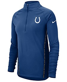 Women's Indianapolis Colts Element Core Half-Zip Pullover