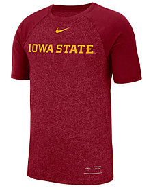 Nike Men's Iowa State Cyclones Marled Raglan T-Shirt