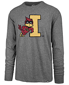 '47 Brand Men's Iowa State Cyclones Knockout Fieldhouse Long Sleeve T-Shirt