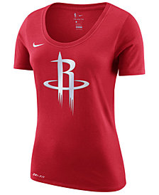 Nike Women's Houston Rockets Logo T-Shirt