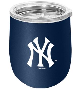 New York Yankees Stainless Steel Stemless Wine Glass