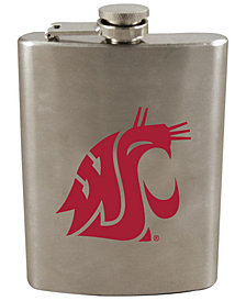 Memory Company Washington State Cougars 8oz Stainless Steel Flask