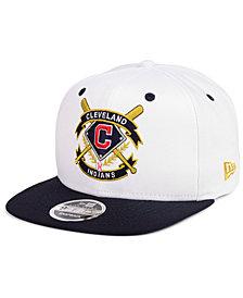 New Era Cleveland Indians Crest 9FIFTY Snapback Cap