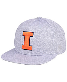 Top of the World Illinois Fighting Illini Solar Snapback Cap