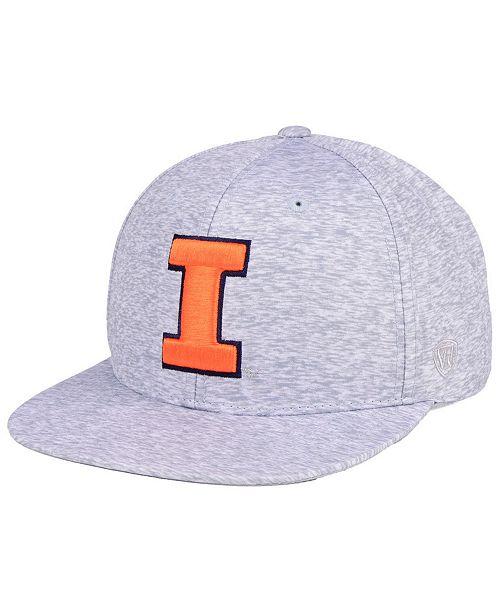 buy online 23660 b7d99 ... Top of the World Illinois Fighting Illini Solar Snapback Cap ...